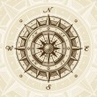 Royalty-Free Stock Vector Image: Vintage compass