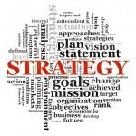 Strategie wordcloud — Stockfoto #10453878