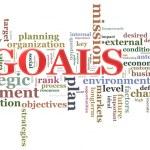 Goals wordcloud — Stock Photo #10552903
