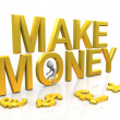 Stock Photo: Make money