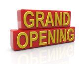 Büyük açılış — Stok fotoğraf