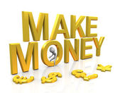 Make money — Foto Stock