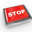 Stop push button — Stock Photo