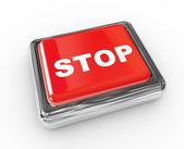 Basma düğmesi durdur — Stok fotoğraf