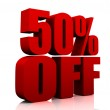 50 percent off — Stock Photo #8721749