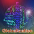 Stock Photo: Globalization Wordcloud