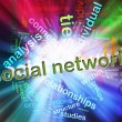 Foto Stock: Concept of Social Network