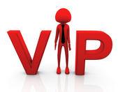 3d vip person — Stockfoto