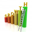 Concept of growth — Stock Photo
