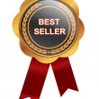 Stock Photo: Bestseller medal