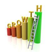 Concept van groei — Stockfoto