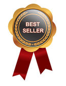 Bestseller medal — Stock Photo