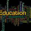 Stock Photo: Education wordcloud