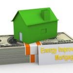 Energy improvement mortgage — Stock Photo