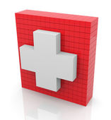 3d first aid — Stock Photo