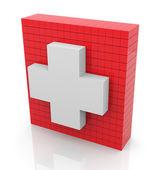 3d primeros auxilios — Foto de Stock