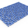 3d maze — Stock Photo #9176034