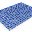 Stock Photo: 3d maze