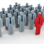 liderlik ve ekip çalışması kavramı — Stok fotoğraf