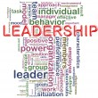 Leadership wordcloud — Stock Photo #9177853