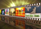 Filmové role — Stock fotografie