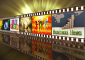 Rolka filmu — Zdjęcie stockowe