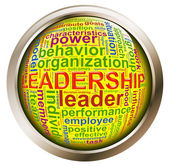 Shiny button - Leadership tags — Foto Stock