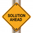 Foto Stock: Solution ahead