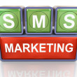 sms marketing — Stock Photo #9520658