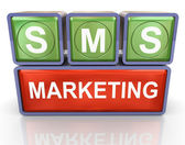 Sms marketing — Zdjęcie stockowe