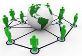 Netwerk concept — Stockfoto