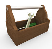 3d toolbox — Stock Photo
