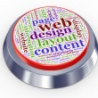 Royalty-Free Stock Photo: Web design button