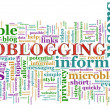 Microblogging wordcloud — Photo