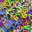 3d heap of alphabets — Stock Photo #9553640