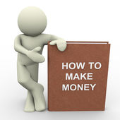 How to make money — Stockfoto
