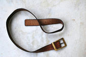 Leather belt — Stock Photo