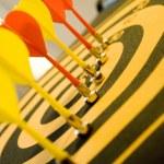 Dart board — Stock Photo #10211781