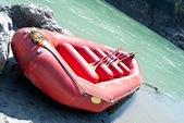 Rafting boat — Stock Photo