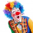Happy clown - Stock Photo