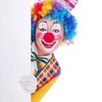 Happy clown — Stock Photo
