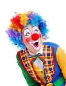 Happy clown — Stock Photo