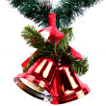 Christmas ball isolated on white background — Stock Photo