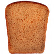 A slice of  rye bread — Stock Photo