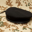 Commando beret — Stock Photo