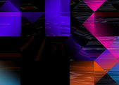 Abstract multicolor geometric background — 图库照片
