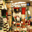 Christmas nutcrackers decoration — Zdjęcie stockowe #8028053