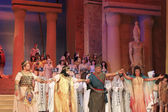 A final of the opera Aida — Stock Photo