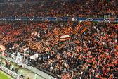 Shakhtar d. fans — Stockfoto