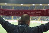 Football fan — Stock Photo